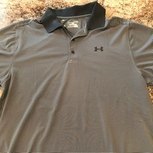 XL under Armour loose fit heat gear polo